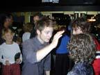 Elijah Wood (Frodo)and fans